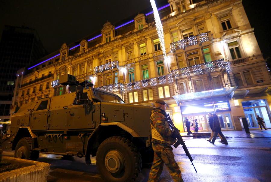 В Брюсселе проходит спецоперация из-за угрозы теракта