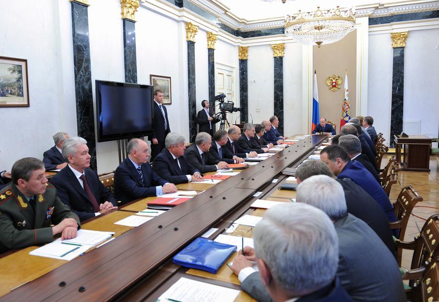 Совбез РФ: Вооружённая агрессия против Крыма будет расцениваться как нападение на Россию