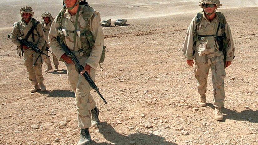 Сотни американских морских пехотинцев расположились у границ Сирии
