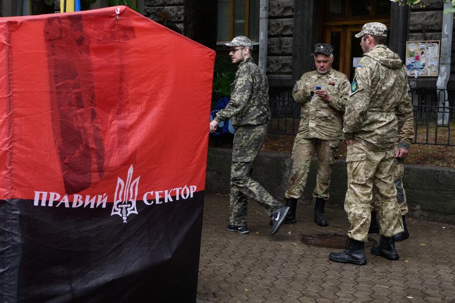На Украине продолжаются поиски боевиков «Правого сектора» из Мукачево