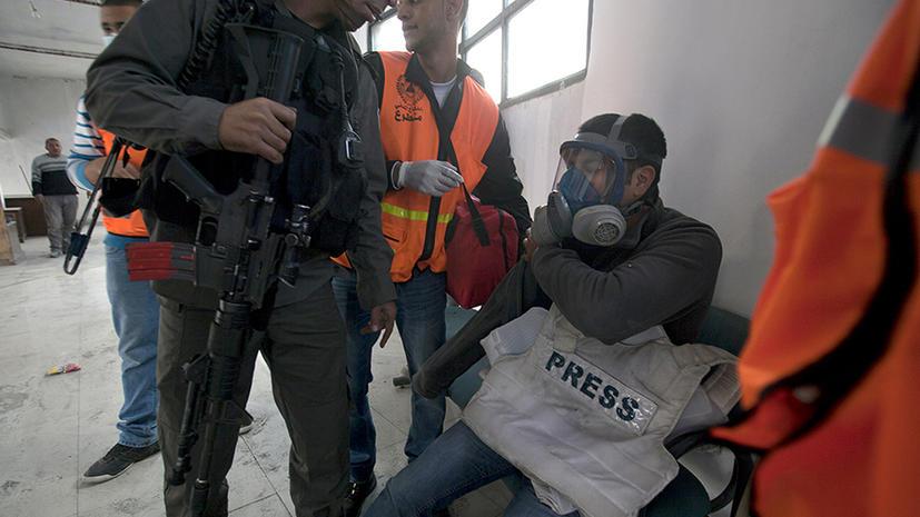 Израильские солдаты избили журналистов Reuters