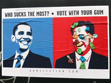 Жвачка и кофе помогут американцам выбрать нового президента