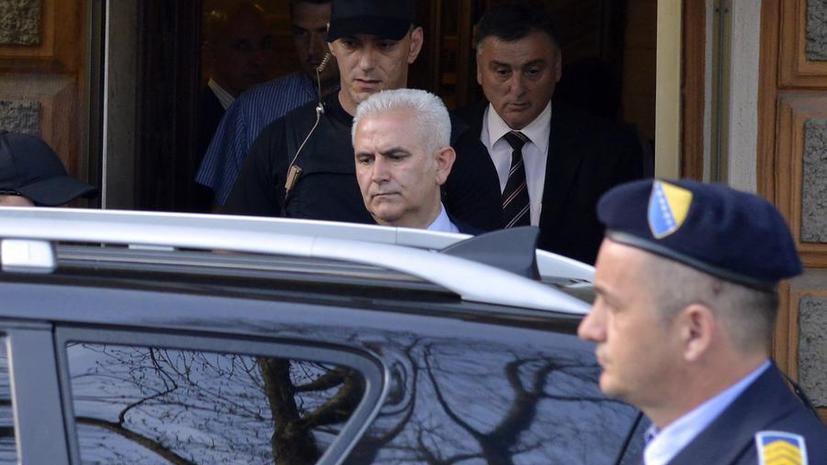 Боснийская полиция арестовала президента Федерации Боснии и Герцеговины