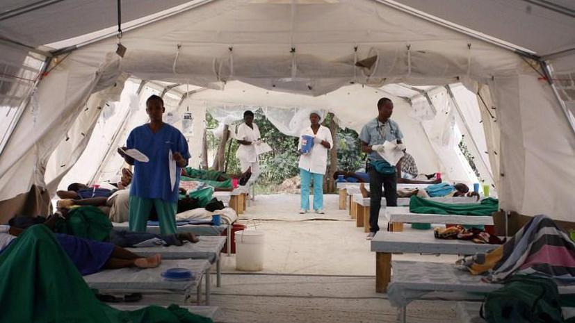 Источником эпидемии холеры на Гаити стали миротворцы ООН