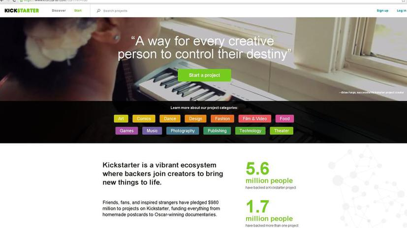 Хакеры получили доступ к данным пользователей сайта Kickstarter