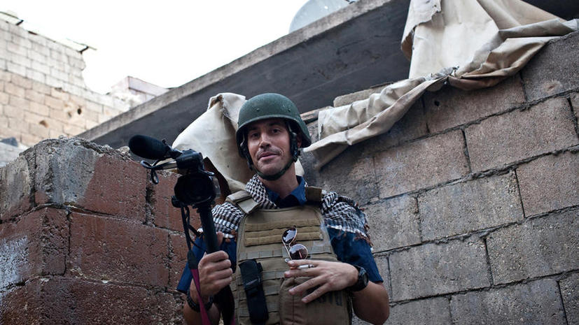 Власти США запрещали семье казнённого журналиста Фоули собирать деньги на его выкуп