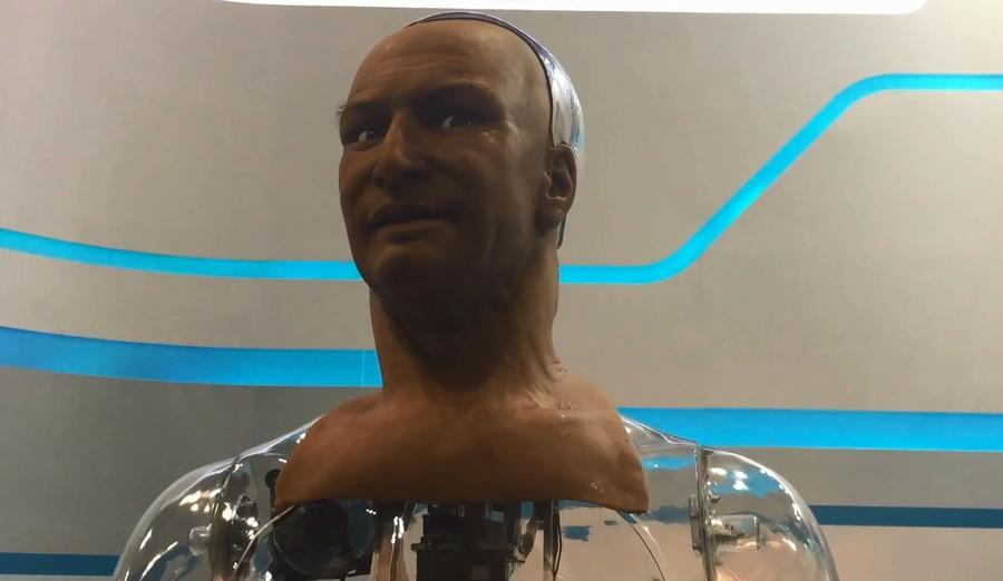 Учёные представили робота, выражающего эмоции и поддерживающего разговор