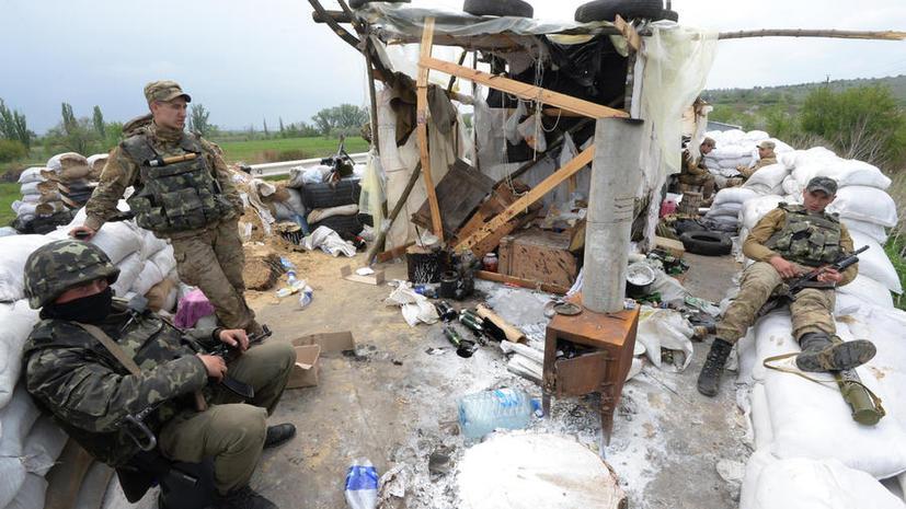 СМИ: На Украине мобилизованных в армию плохо кормят и не отпускают домой