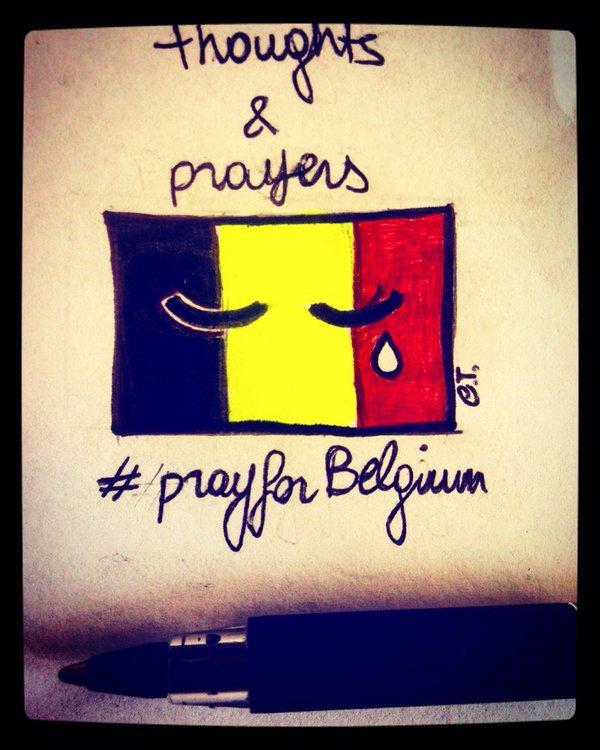 От #JeSuisBruxelles до #StopIslam: реакция соцсетей на теракты в Брюсселе