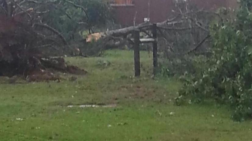 Очередной торнадо в США уничтожил церковь и жилой дом