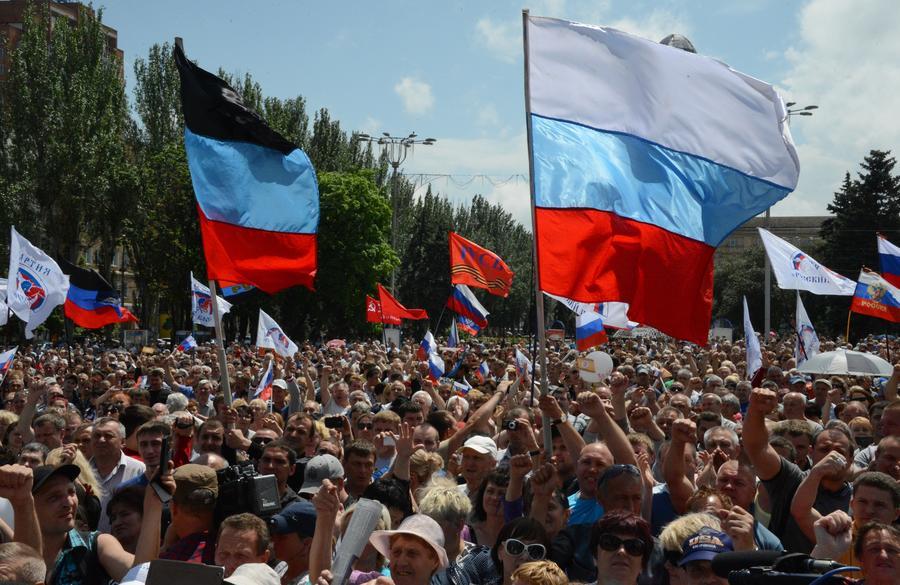Мэр Донецка призвал Киев к переговорам с участием России и международных организаций