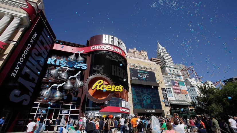 Корпорация Hershey судится с производителями конфет с марихуаной из-за торговых марок
