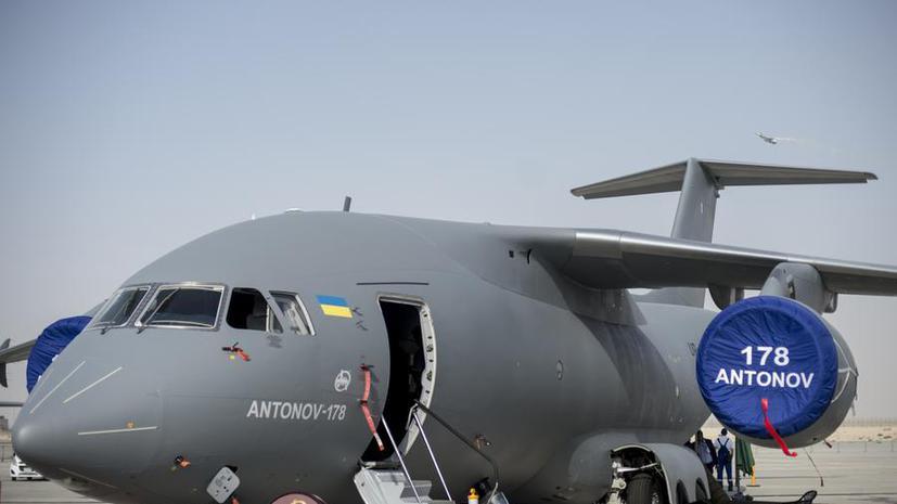 Новый транспортный «Антонов» украинцы предлагают назвать «Бандера»