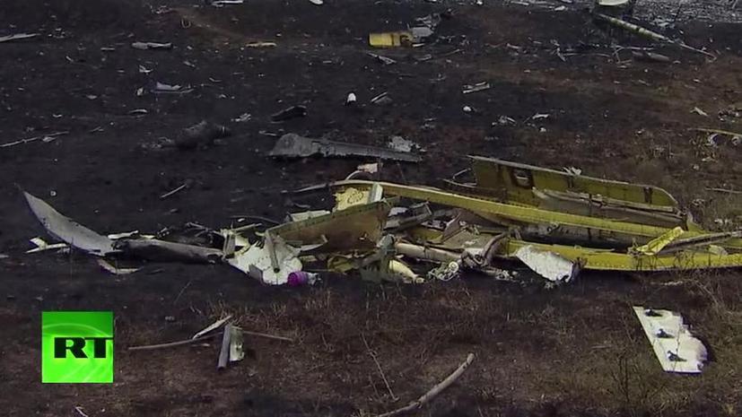 В Нидерландах недовольны заявлениями представителя СНБО Украины по расследованию катастрофы Boeing