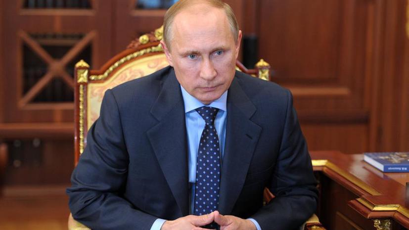 Владимир Путин направил в СФ письмо с предложением отменить постановление об использовании армии на Украине