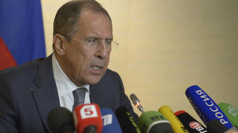 Сергей Лавров: Киев должен начать диалог по конституции и отказаться от насилия