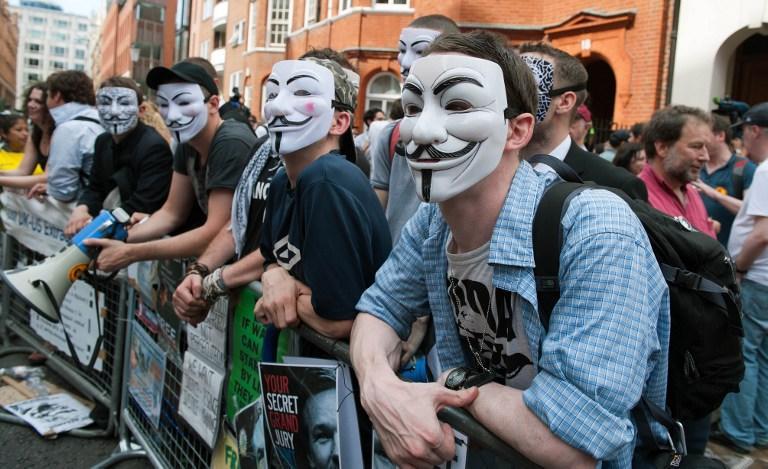 Сайты Anonymous и LulzSec подверглись DDoS-атакам спецслужб Великобритании