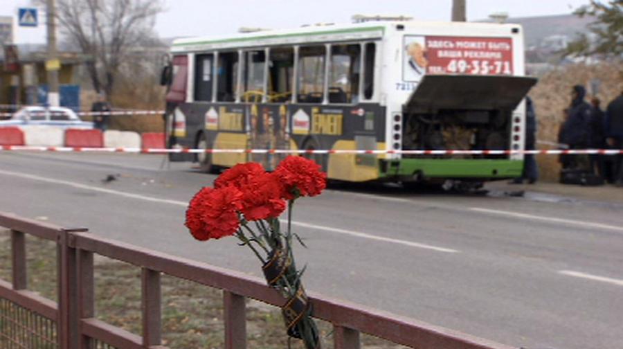 СК: Мощность бомбы, взорванной смертницей в Волгограде, составила 500-600 граммов тротила