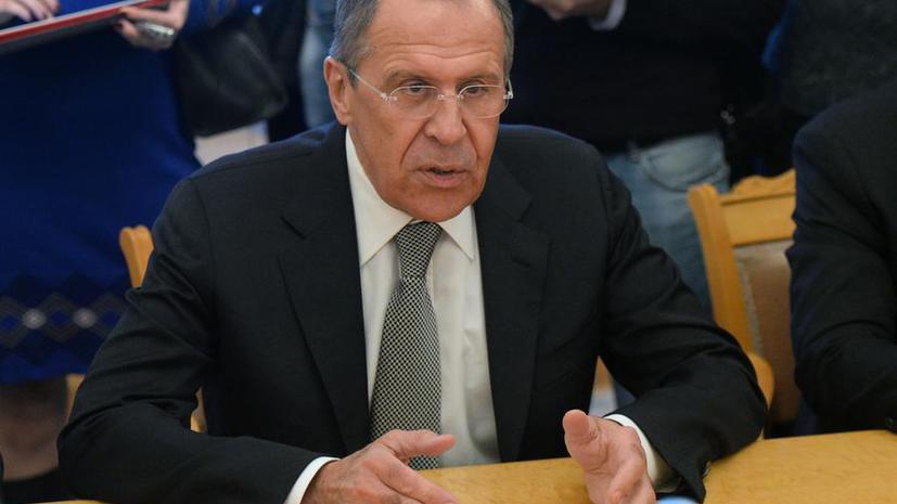 Сергей Лавров: РФ требует расследования применения запрещённого оружия под Славянском