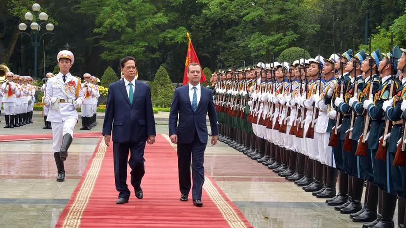 Дмитрий Медведев: Вопросы по созданию зоны свободной торговли между ЕАЭС и Вьетнамом согласованы