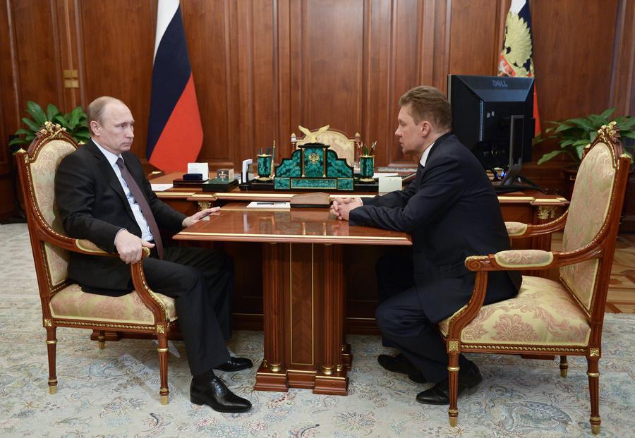 Президент РФ поддержал предложение не штрафовать Украину за нарушение условий газового контракта