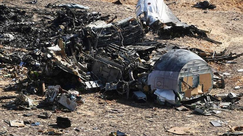 Эксперты: Устройство бомбы в А321 аналогично использованным при взрывах домов в Москве в 1999 году