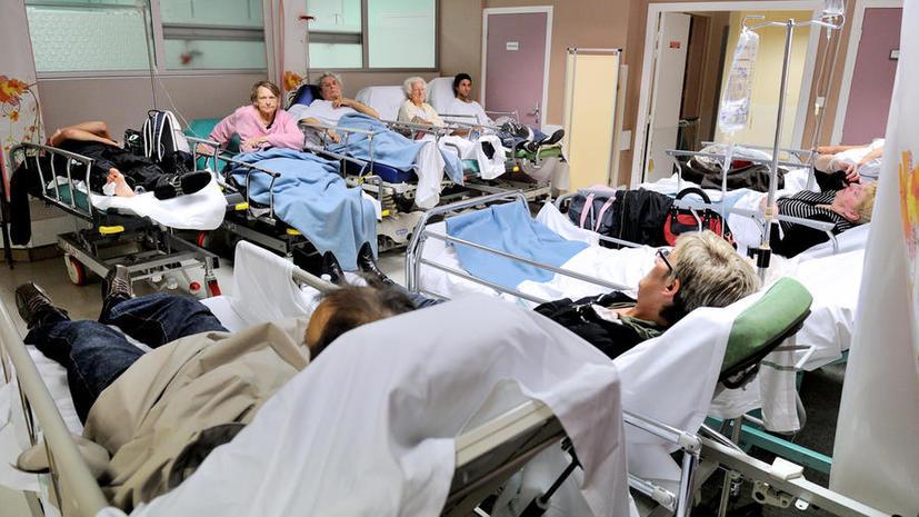 В ирландской больнице пациентам с переломами приходилось ждать помощи по несколько часов