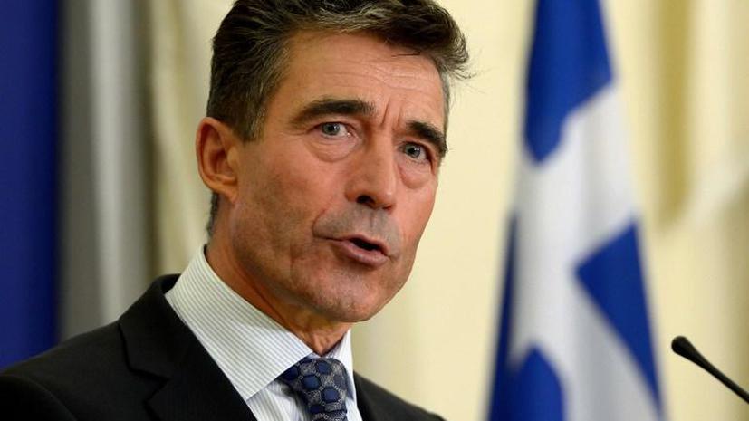Генсек НАТО: Применение военной силы против Сирии не приведёт к разрешению конфликта
