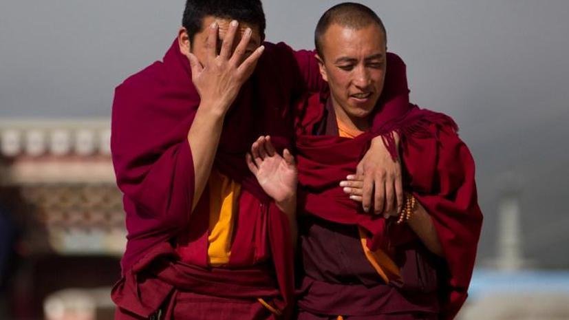 Китайская полиция разогнала протестующих тибетцев выстрелами  в толпу