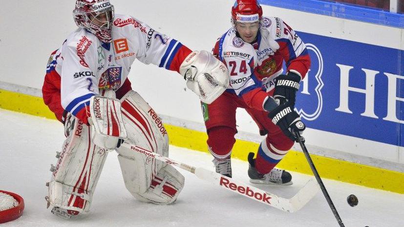 Россияне проиграли заключительный матч Шведских игр Чехии