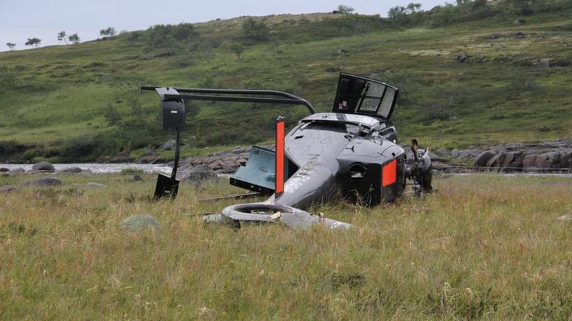Под Мурманском разбился частный вертолёт: погибли россиянин и двое граждан Великобритании