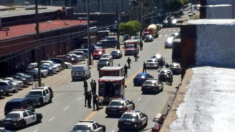 Неизвестный открыл стрельбу в Сан-Франциско: есть жертвы