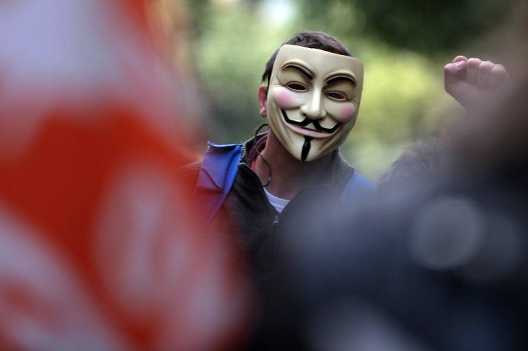 Хакеры из группы «Анонимус» выступили против атаки Израиля на Газу