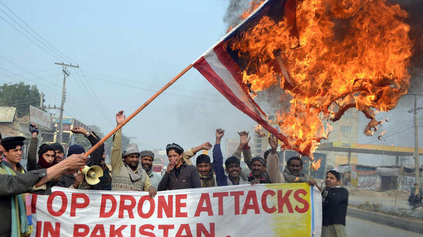 Дроны США в Пакистане за девять лет уничтожили свыше 3 тыс человек, многие из них были убиты по ошибке