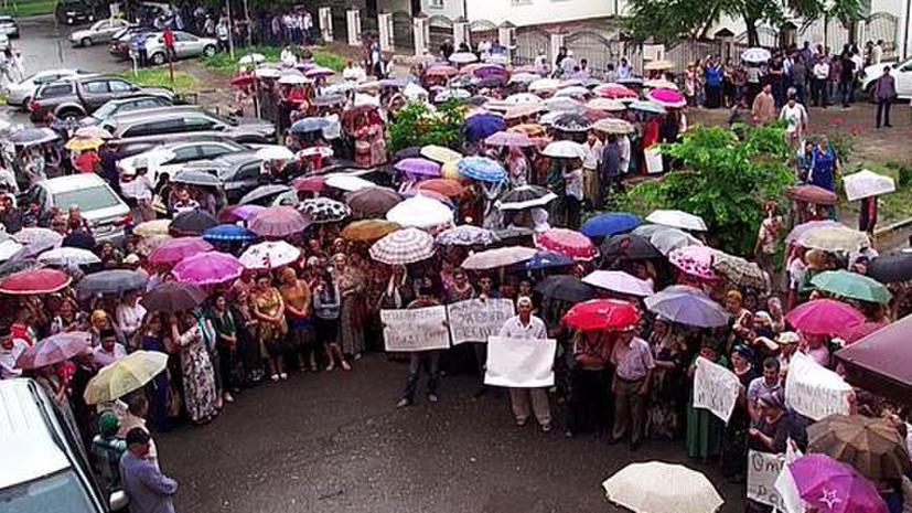 В Грозном произошли беспорядки у офиса правозащитной организации