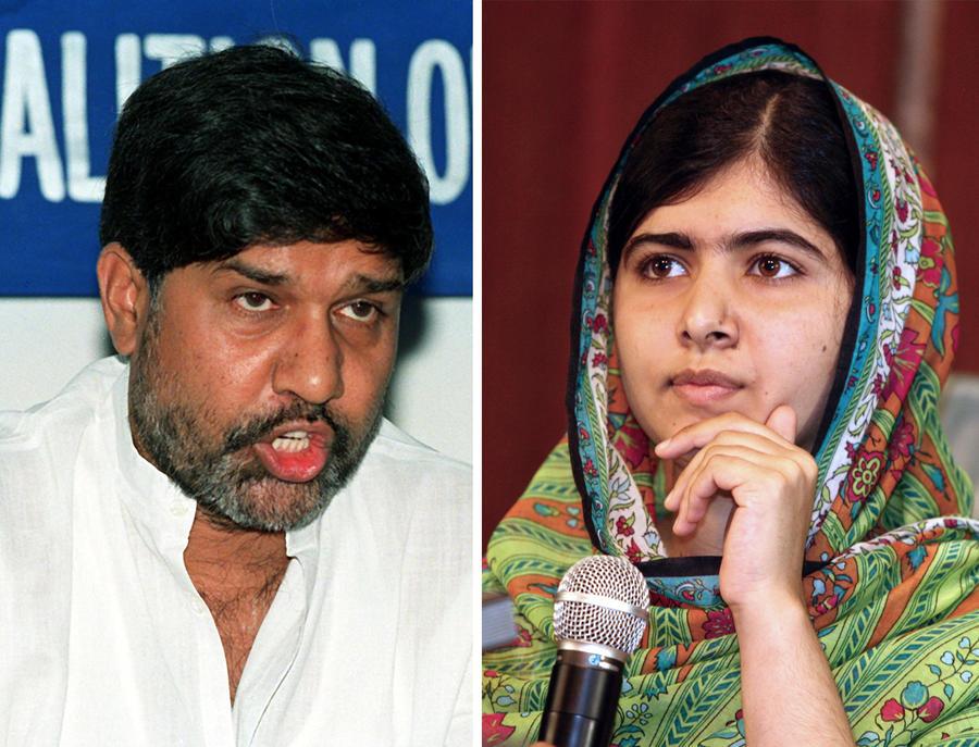 Лауреатами Нобелевской премии мира стали правозащитники Малала Юсуфзай и Кайлаш Сатьяртхи