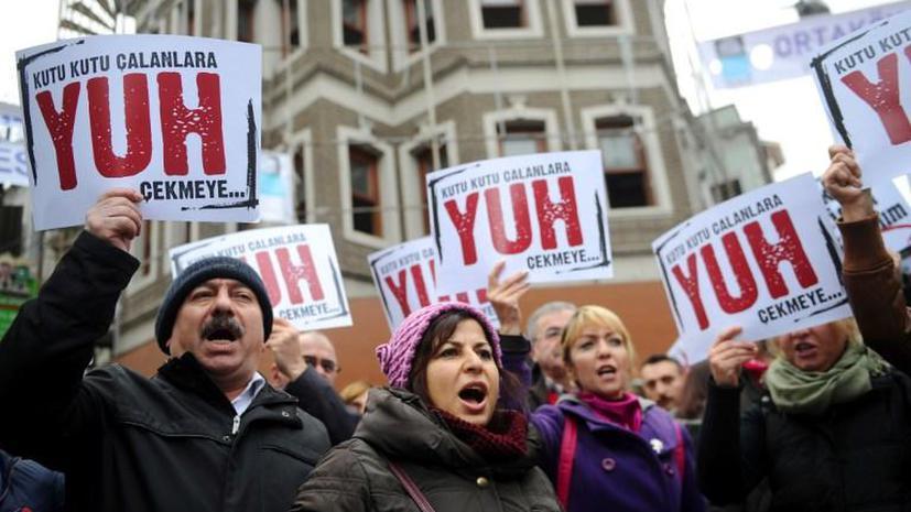 Политический кризис стоил экономике Турции $100 млрд