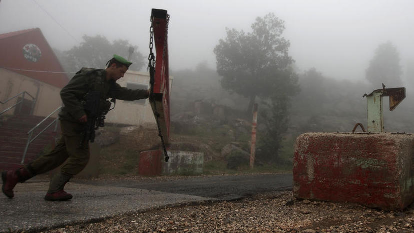 Израильский спецназ вторгся на территорию Сирии