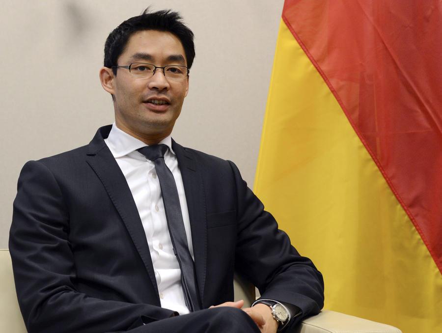 Немецкая газета опубликовала интервью с вице-канцлером Германии, которое состояло только из вопросов