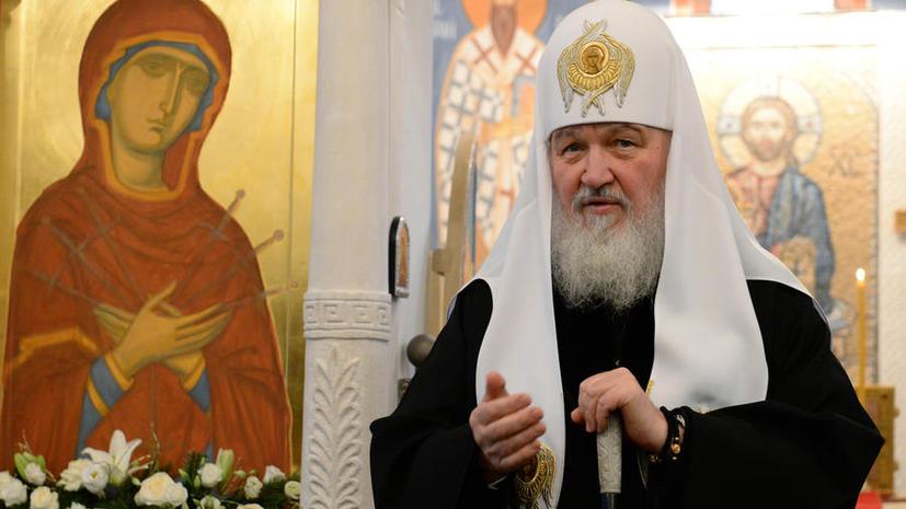Патриарх Кирилл ответил на письмо Калашникова, сняв с конструктора ответственность за убийства от его изобретения