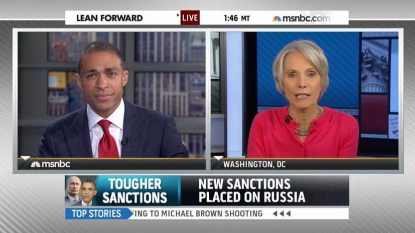 Американский телеканал: Владимир Путин использует санкции Запада на пользу России