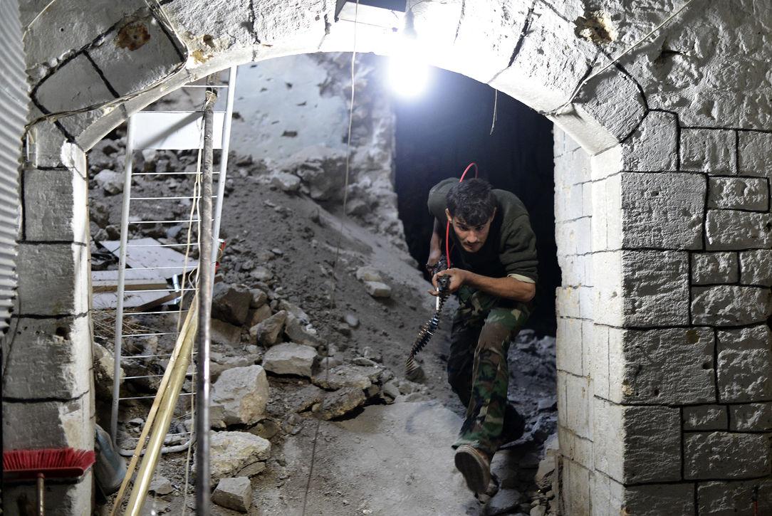 Сирийские боевики взорвали Великую мечеть в Алеппо