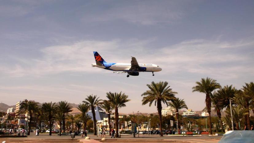 Израильский аэропорт закрыт в связи с террористической угрозой
