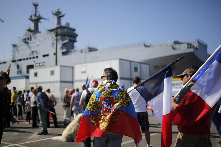 Французские СМИ: Всё больше французов видят в России нового союзника