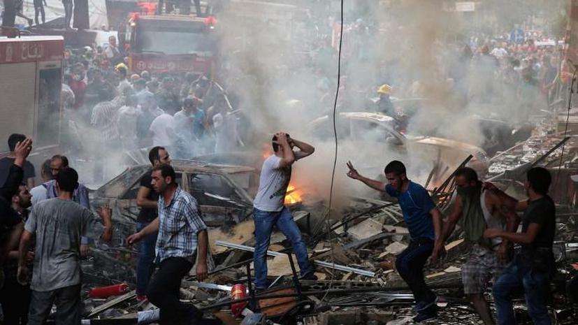Ливан обвинил Израиль во взрыве у офиса «Хезболлы» в Бейруте