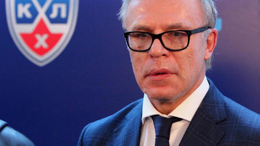 Вячеслав Фетисов выступил с критикой в адрес Федерации хоккея России