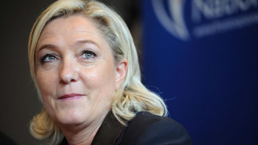 Марин Ле Пен потрясло известие об отказе президента Франции присутствовать на открытии Олимпиады в Сочи