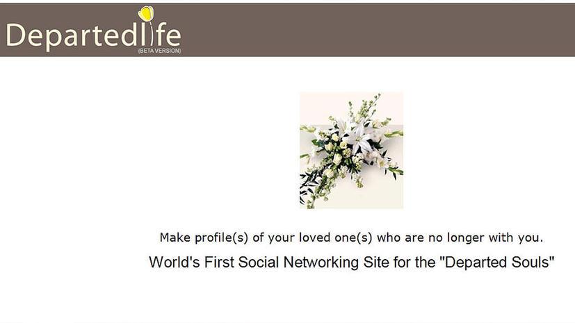 В Индии появилась социальная сеть для мертвых