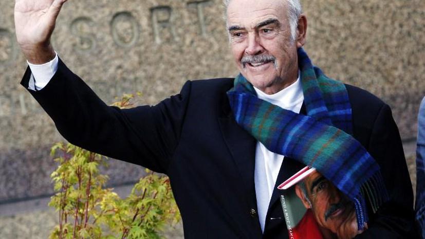Актер Шон Коннери призывает шотландцев проголосовать за независимость