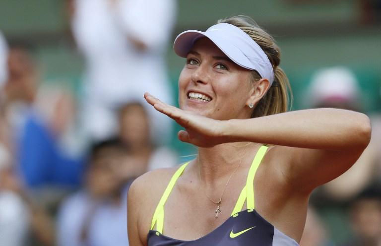 Мария Шарапова второй год подряд вышла в финал «Ролан Гаррос»